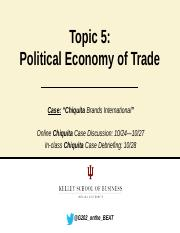 Topic_5_ Political Economy of Trade