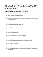 VN 102 Study Guide-Foundations FINAL Exam.docx