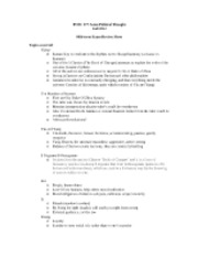 Midterm study guide Fall 2012