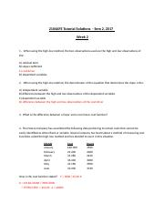 2104AFE Wk 2 Solutions to Tutorial Questions.docx