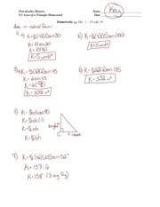 Section 7 6 Homework Answer Key Precalculus Honors 7 6 Inverse