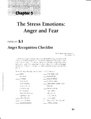 Anger &Fear