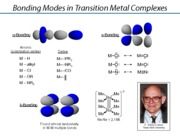Chem 103 - Lectures 4-5 - Bonding in Metal Complexes
