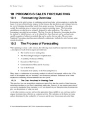 10-PrognosisForecasting