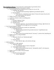 Con Law Outline 1B