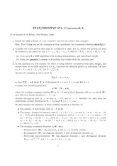 Exam 5 on Regression Models for Dependent Data