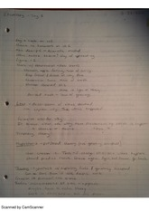 law and theory, class notes