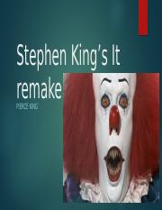 Stephen King's It remake