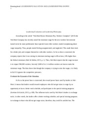 philosophy of managment essay What is your management philosophy  it seems to me that having a managment philosophy makes you accountable as a manager.