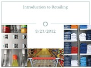 Introduction to Retailing- Aug 23 (1)
