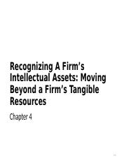 Chapter 4 - Recognizing Intellectual Assets.ppt