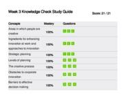 week 1 knowledge check study guide Mgt 312 week 1 knowledge check study guide click link below to buy: .