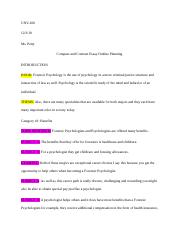 Compare and Contrast Essay Outline Planning .docx