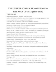 History study guide test 3 part 2