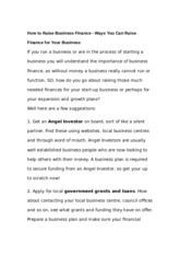How_to_Raise_Business_Finance