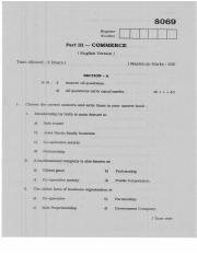 (www.entrance-exam.net)-Tamil Nadu Board Higher Secondary Commerce Sample Paper 6
