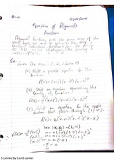 equation of polynomial functions