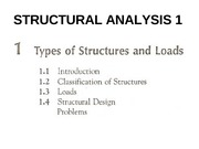 CHAPTER 1-TYPES OF STRUCTURES AND LOADS