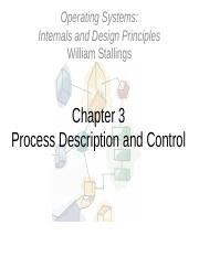 Lec02 Pdf Operating Systems Internals And Design Principles William Stallings Chapter 3 Process Description And Control Roadmap How Are Processes Course Hero