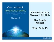 AS.180.302 Section 2 The goods market notes
