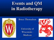 Radiotherapy Events and QM 2012 - Handout