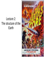 Lecture 2 - earth structure.ppt