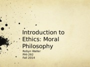 Ethical Issues Intro