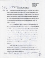 Essay 1 and 2