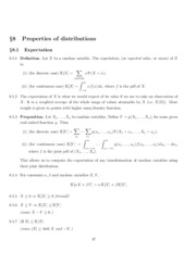 Chapter 8. Properties of Distributions