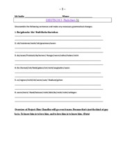 Deutsch 3 Weekly Packet 31