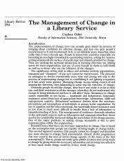 The Management of Change in a Library Service.pdf