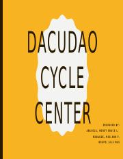 DACUDAO CYCLE CENTER Accounting Manual.pptx