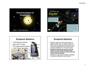 802-Characterization of Exoplanets