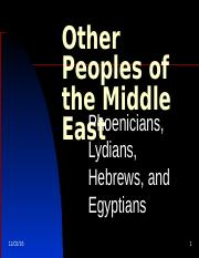 Other Peoples of the Middle East.ppt