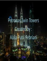 Petronas Twin Tower.pptx