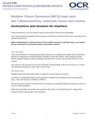 295406-measurements-materials-forces-and-motion-mcq-topic-quiz-lesson-element