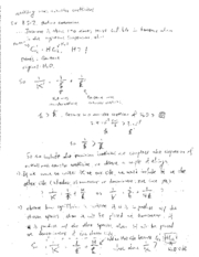 Writing Overall Mass Transfer Coefficient