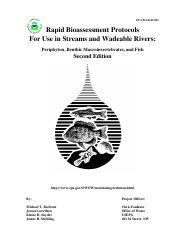 EPA_Rapid Bioassessment Protocols  For Use in Streams and Wadeable Rivers.pdf
