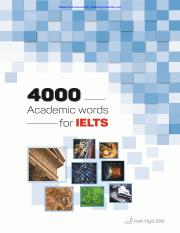 IELTS 4000 Academic Word List pdf - Watermark removed by