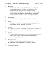 Chapter Terms Study Guide