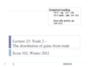 Econ+102+lecture+23%2C+4-5-12+-+Distribution+of+gains+from+trade copy
