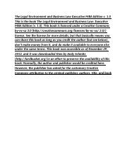 The Legal Environment and Business Law_0001.docx