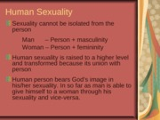 Human Sexuality.nuptial meaning