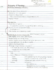 Philosophy of Psychology Folk Psychology Notes