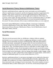 Social Movement Theory_ Resource Mobilization Theory Research Paper Starter - eNotes.pdf