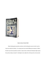 Street Child Book Review