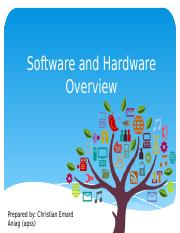 softwareandhardwareoverview-160814040336