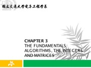 Chap3_Algorithms and Integers