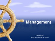 Chapter 2 - Management styles (1)
