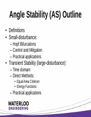AngleStability
